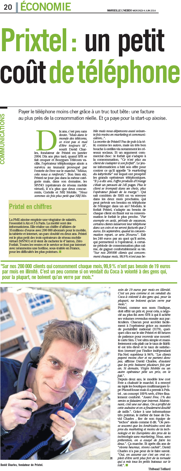 Article Direct Matin _ 04.06.14
