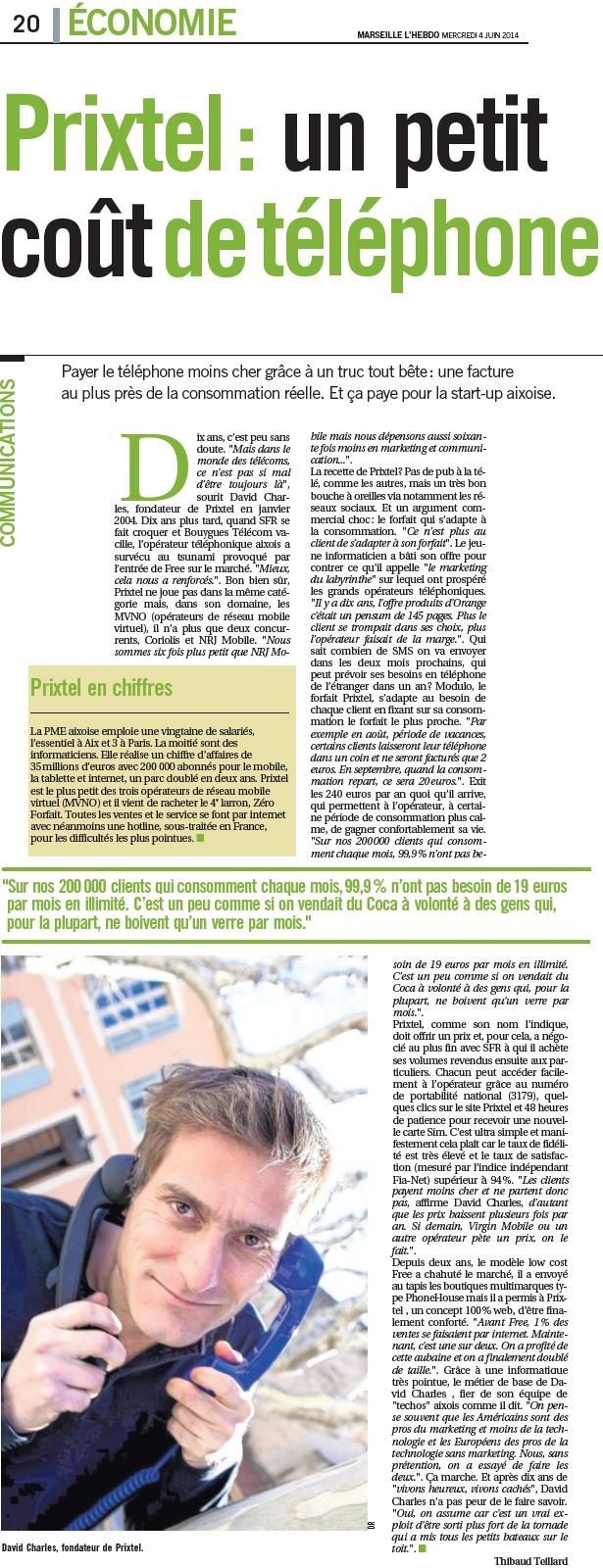 Article Direct Matin _ 04.06.14