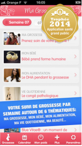 Application mobile Ma grossesse