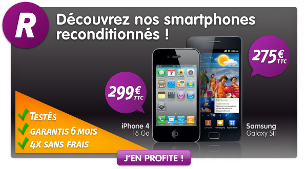 recyclage des t l phones mobiles chez prixtel iphone 4. Black Bedroom Furniture Sets. Home Design Ideas