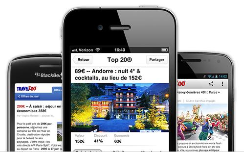 Applications mobiles partez en week end la derni re for Reserver un hotel derniere minute