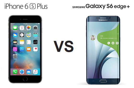 IPHONE 6S VS GALAXY S6 EDGE