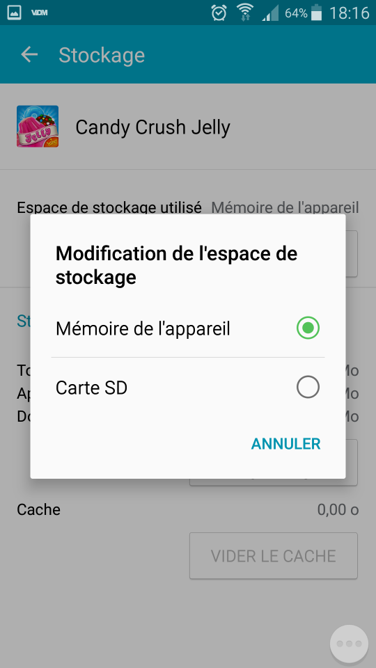 stockage_appli_android