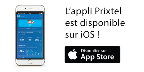Prixtel lance son application mobile sur iOS !
