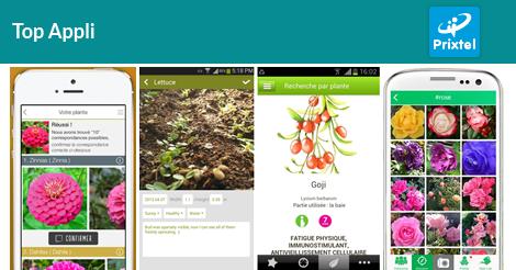 5 applications mobiles pour avoir la main verte prixtel - Avoir la main verte ...