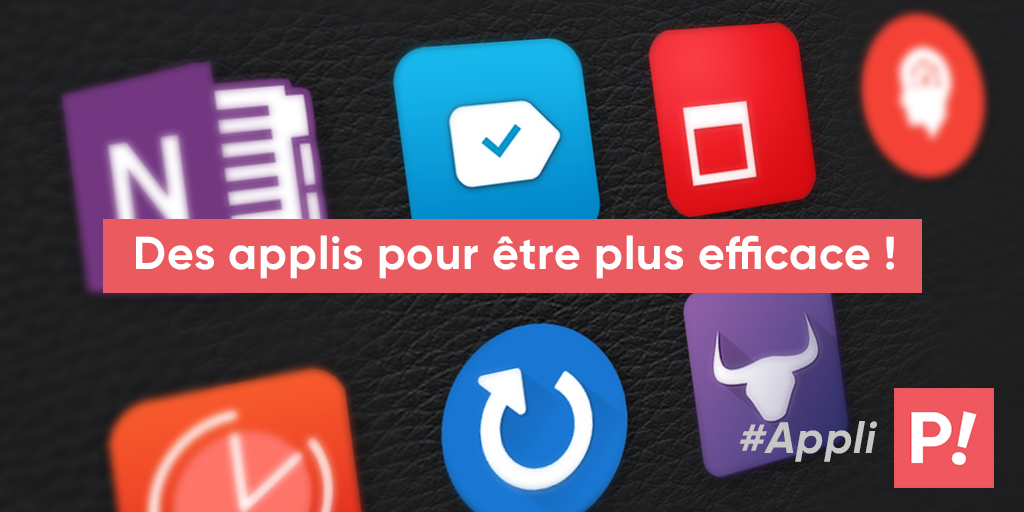 Les applications mobiles indispensables pour bien s'organiser
