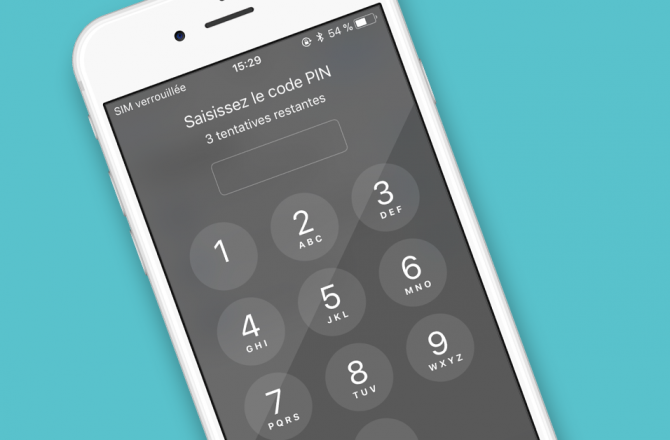 Comment changer le code PIN sur un iPhone ?